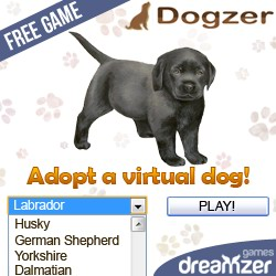 Dogzer: free online game, breed a virtual dog